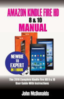 Amazon Kindle Fire Hd 8 And 10 Manual