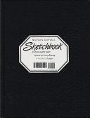 Large Sketchbook  Lizard  Black