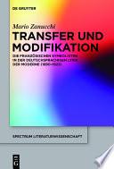Transfer und Modifikation