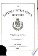 Canadian Magazine of Science and the Industrial Arts, Patent Office Record