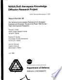 NASA DoD Aerospace Knowledge Diffusion Research Project Report Number 38 The Technical Communication Practices Of US Aerospace Engineers And Scientists Results Of The Phase 1 Mail Survey Flight Test Engineers Perspective