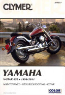Yamaha V Star 650 1998 2011