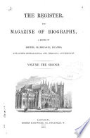The Register, and Magazine of Biography
