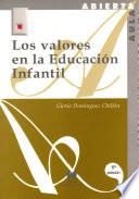 Los valores de la educación infantil
