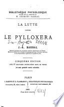 La lutte contre le pylloxera