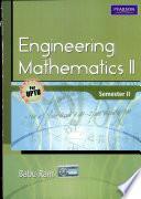Engineering Mathematics II  For UPTU