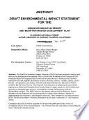Eldorado National Forest  N F    Kirkwood Mountain Resort  2003 Mountain Master Development Plan