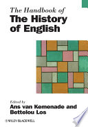 The Handbook Of The History Of English book