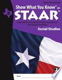 SWYK on STAAR Social Studies Gr  8  Student Workbook