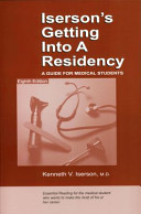 Iserson s Getting Into a Residency
