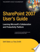 SharePoint 2007 User s Guide