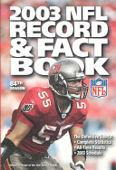 The Official 2003 NFL Record and Fact Book