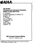 AIAA 28th Aerospace Sciences Meeting
