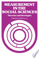 Measurement in the Social Sciences