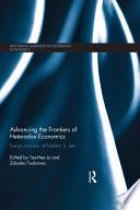 Advancing The Frontiers Of Heterodox Economics book
