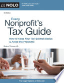 Every Nonprofit s Tax Guide