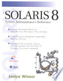 Solaris 8 System Administrators s Reference