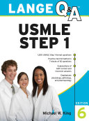 Lange Q A USMLE Step 1  Sixth Edition