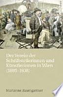Der Verein der Schriftstellerinnen und Künstlerinnen in Wien
