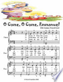 O Come O Come Emmanuel   Easy Piano Sheet Music