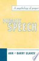 Primary Speech