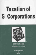 Taxation of S Corporations in a Nutshell