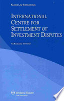 International Centre for Settlement of Investment Disputes
