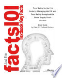 Food Safety For The 21st Century Managing Haccp And Food Safety Throughout The Global Supply Chain