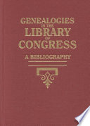 Supplement 1972 1976 to Genealogies in the Library of Congress