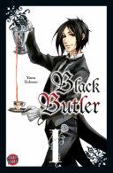 Black Butler 1 Black Butler book