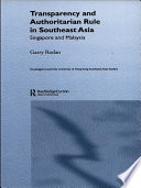 Transparency and Authoritarian Rule in Southeast Asia