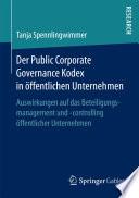 Der Public Corporate Governance Kodex in öffentlichen Unternehmen