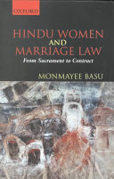 Hindu Women And Marriage Law book