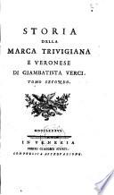Storia Della Marca Trivigiana E Veronese