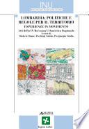 Lombardia  politiche e regole per il territorio