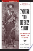 Ebook Taming the Nueces Strip Epub George Durham Apps Read Mobile