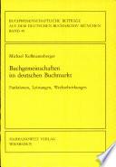 Buchgemeinschaften im deutschen Buchmarkt