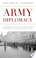 Army Diplomacy