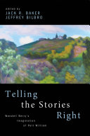 Telling the Stories Right Book