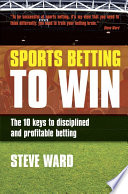 Sports Betting to Win Sports Betting Are Looking At Things