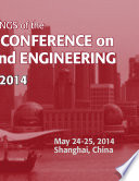 International Conference on Management and Engineering CME 2014