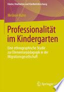 Professionalität im Kindergarten