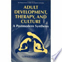Adult Development  Therapy  and Culture