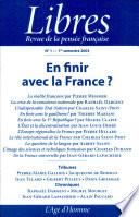 En finir avec la France
