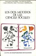 Los Dos Metodos de Las Ciencias Sociales