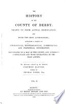 The History Of The County Of Derby