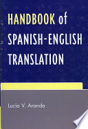 Handbook of Spanish English Translation