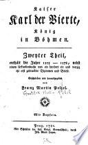 Th. Enthält die Jahre 1355-1378. Urkundenbuch zum sweyten Theil