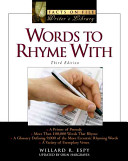 Words To Rhyme With : triple rhymes, and offers information...