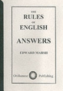 The Rules of English